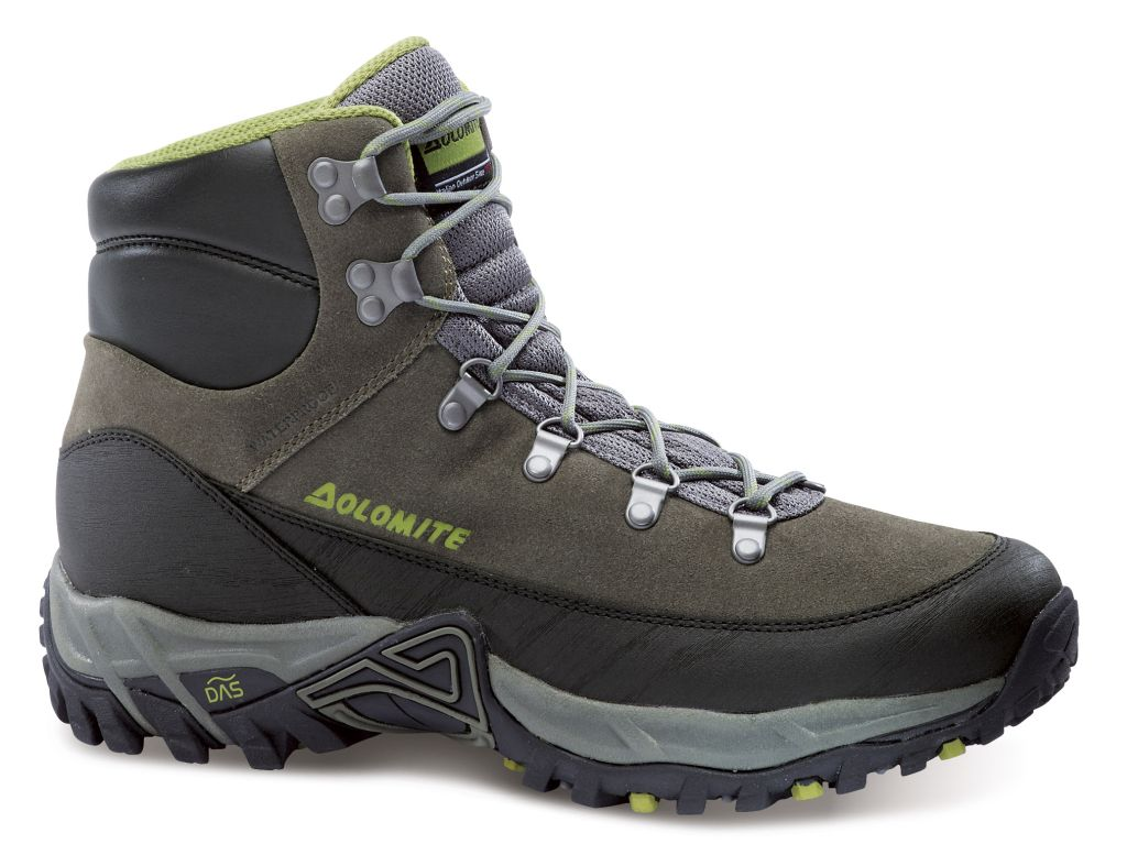 Dolomite Scramble Track WP Grey/Green EUR 42