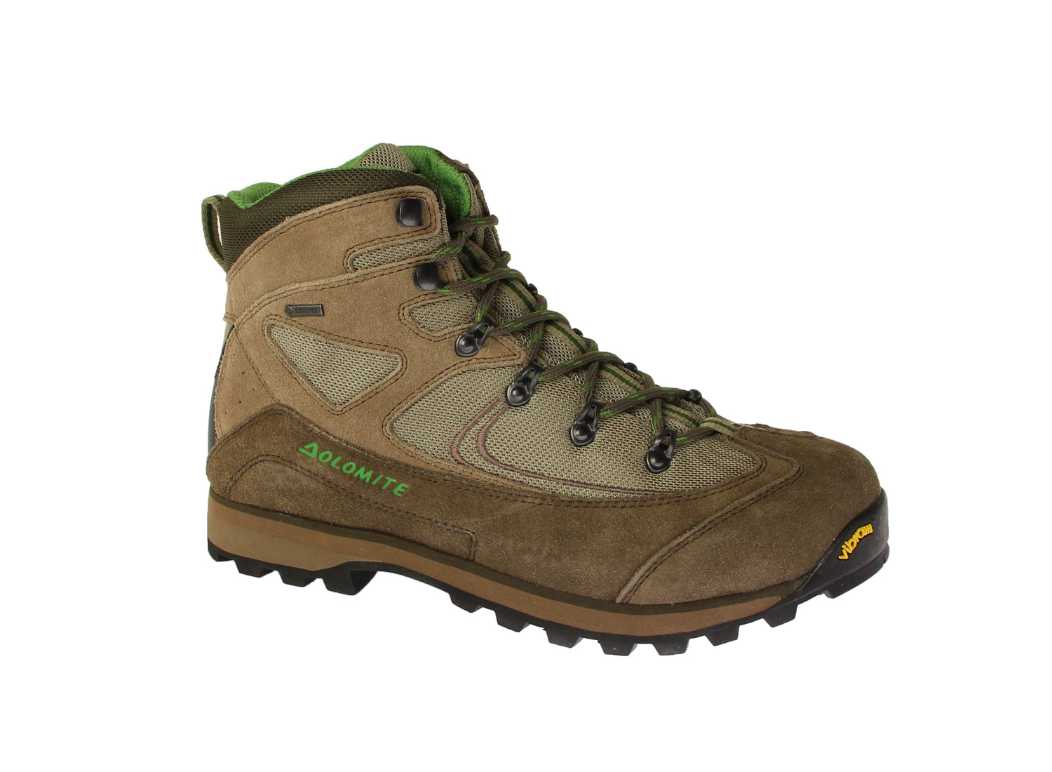 Dolomite Ortisei GTX Brown/Green EUR 42