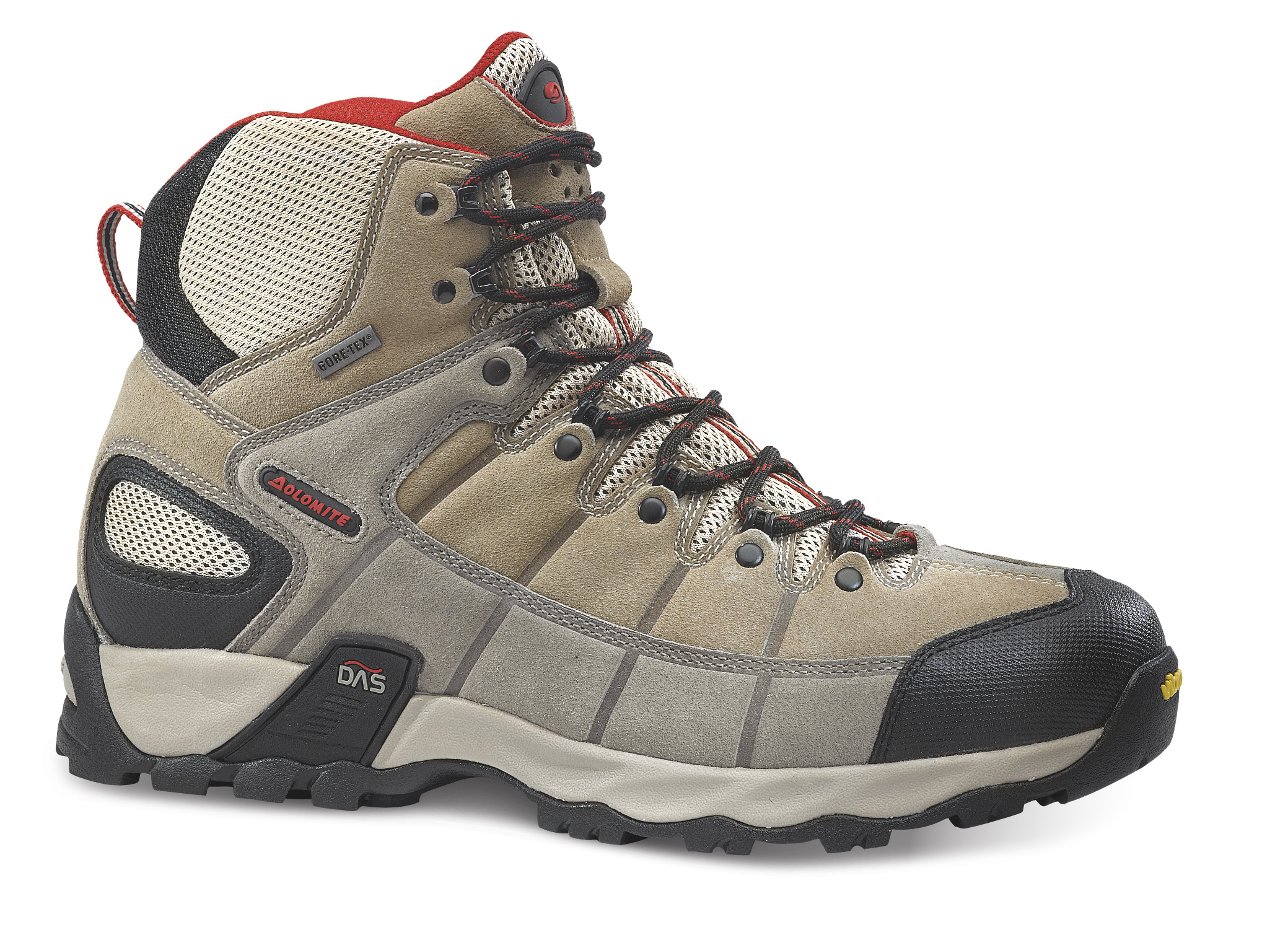 Dolomite Sparrow Evo High GTX Beige/Red EUR 42